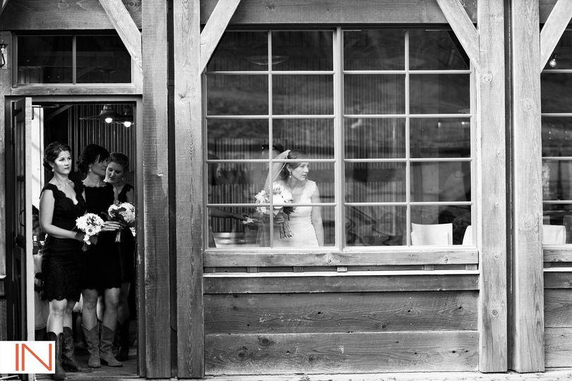 Rustic mountain wedding getaway.
