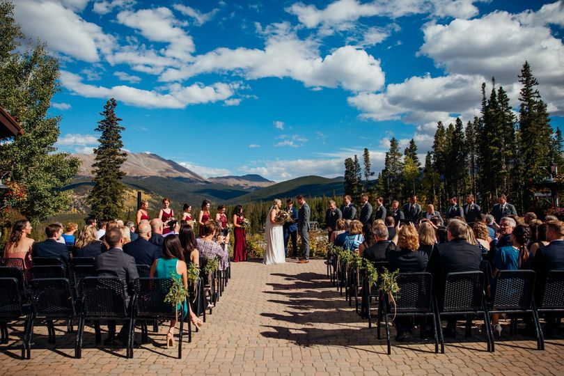 Ceremony at TenMile Station