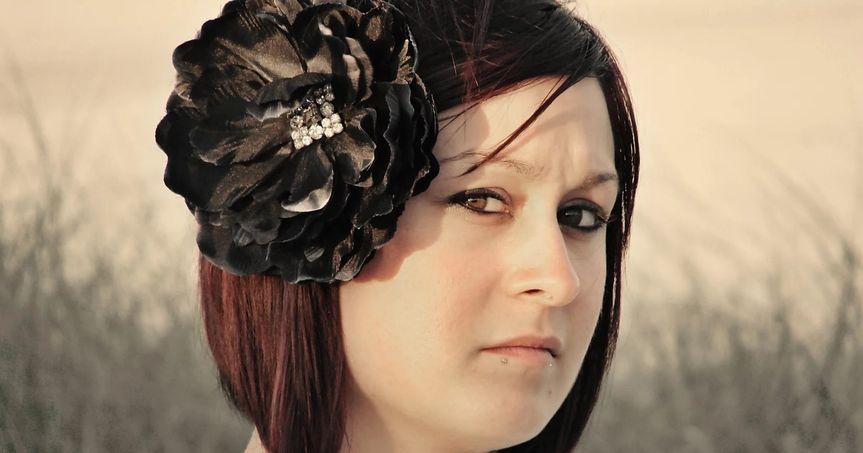 Hair flower accessory