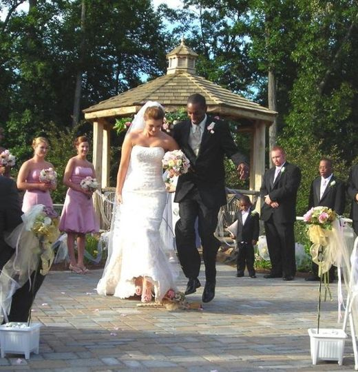 Jumping the Broom at Liberty Mountain