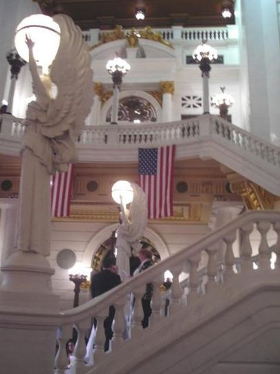 Inside the PA State Capital