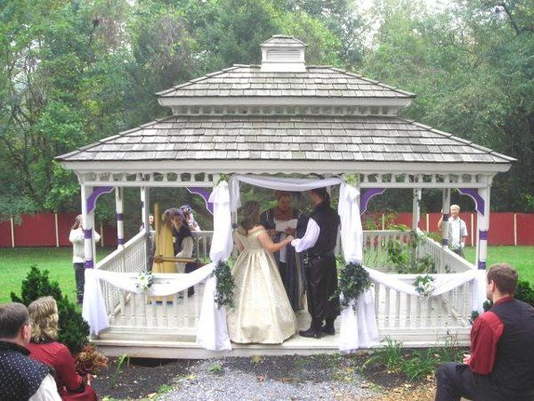 Tmx 1235410666130 ExchangingVowsatthePARennFaire Mechanicsburg, Pennsylvania wedding officiant