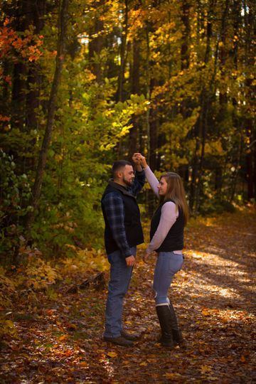 Engagement in he woods