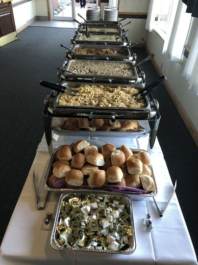Buffet, plated, family style