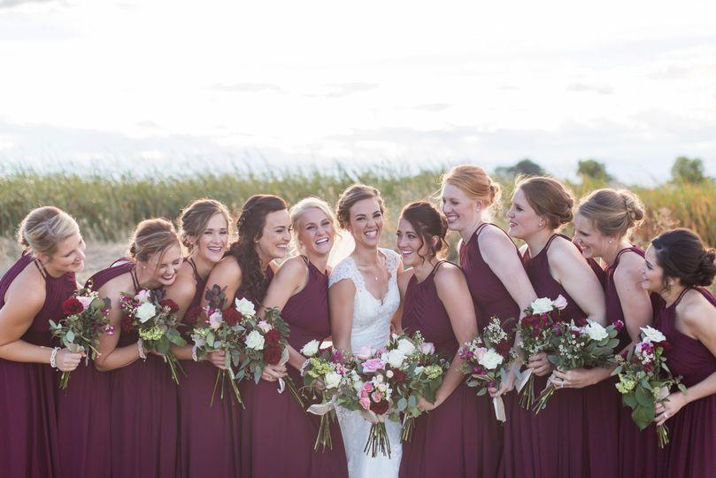 Danielle & bridal party