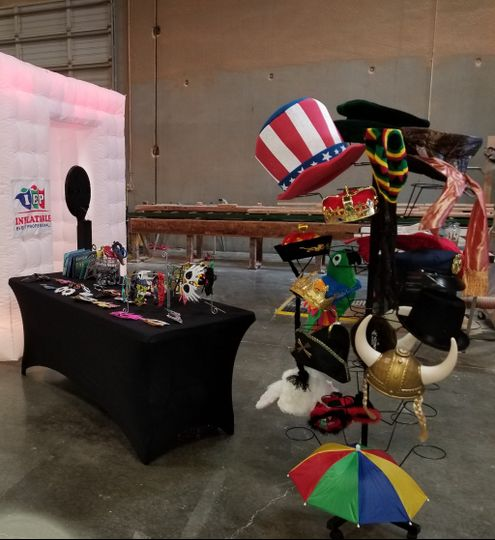 Photo booth and prop rentals