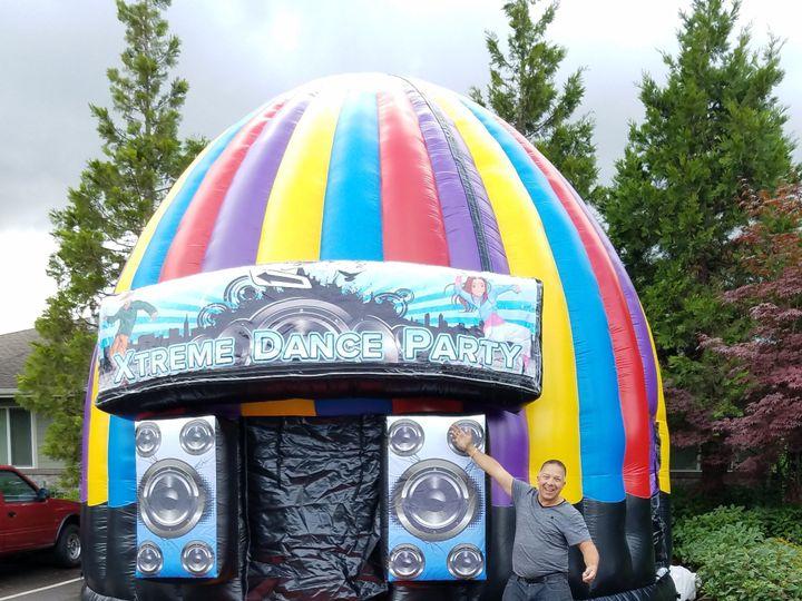 Tmx 18 Foot High Xtreme Dance Dome Inflatable 51 1063877 1556860452 Spanaway, WA wedding rental
