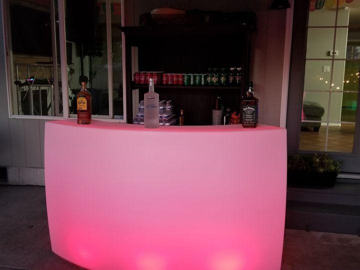 Tmx Curved Portable Led Bar 51 1063877 1556860383 Spanaway, WA wedding rental