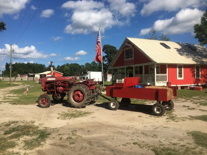 Wagon rides and antique tractors are a staple for Livingston Creek
