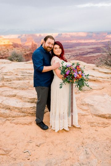 Moab bridal session