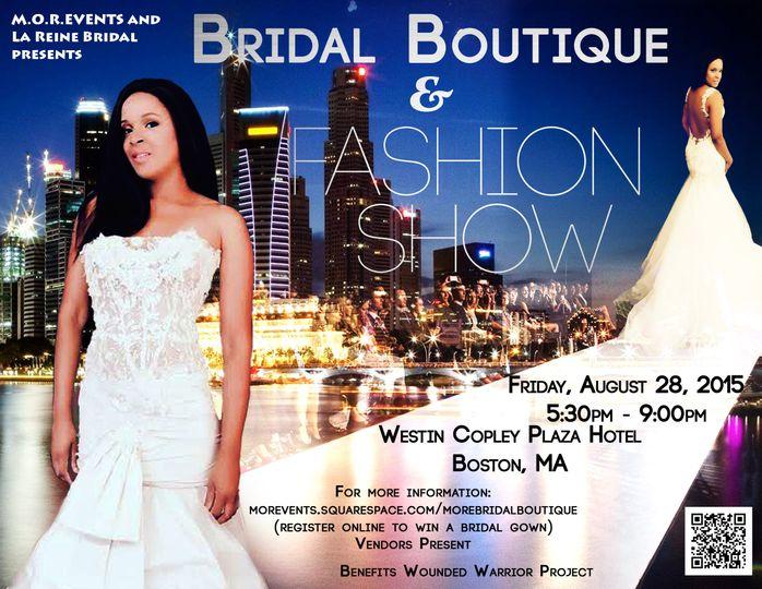bridal fashion show front