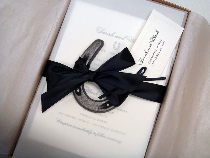 Tmx 1343326107179 Horsetied Bohemia, NY wedding invitation