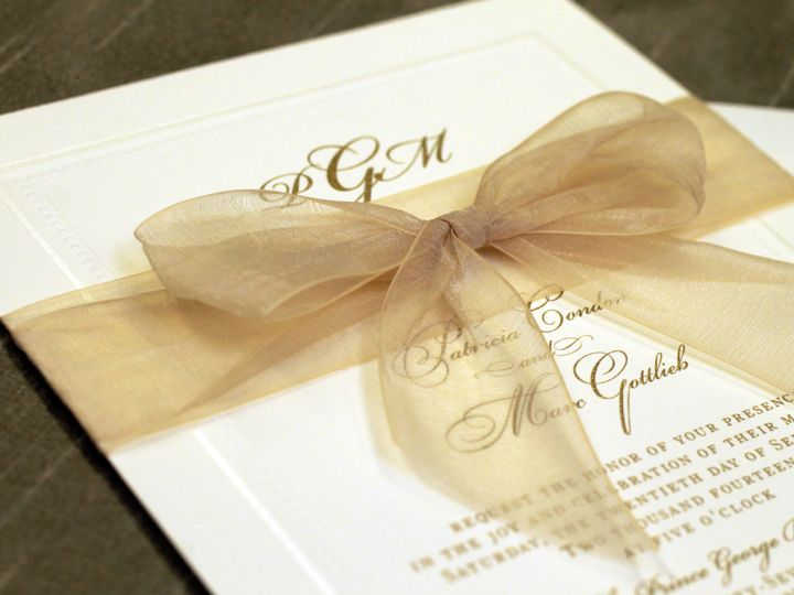 Tmx 1430409414178 Img5330 Bohemia, NY wedding invitation
