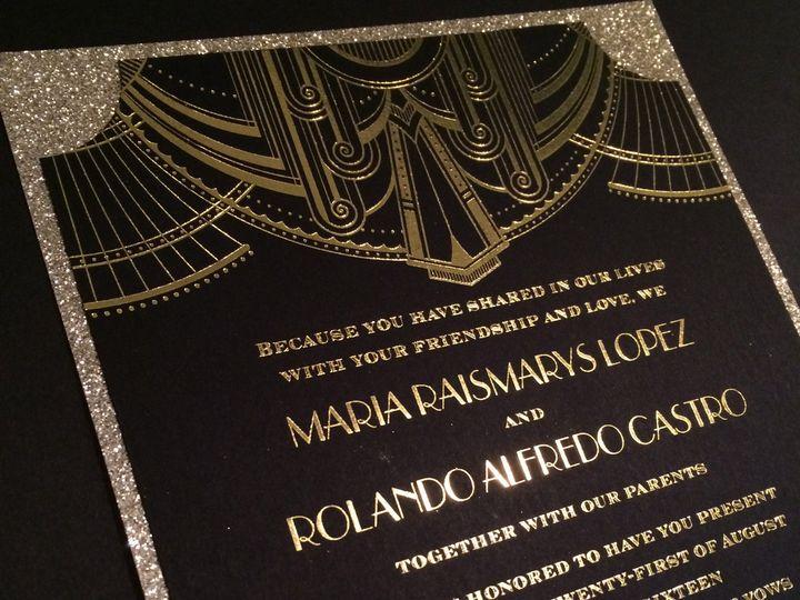 Tmx 1476133779052 Maria And Rolando Only You Bohemia, NY wedding invitation