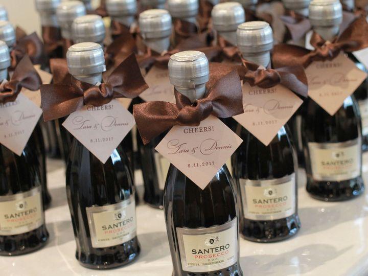 Tmx 1520014560 4368e2c19a8ca0d4 1520014557 7f4deb347d1beb7c 1520014571129 5 Mcd Wine Tags Bohemia, NY wedding invitation