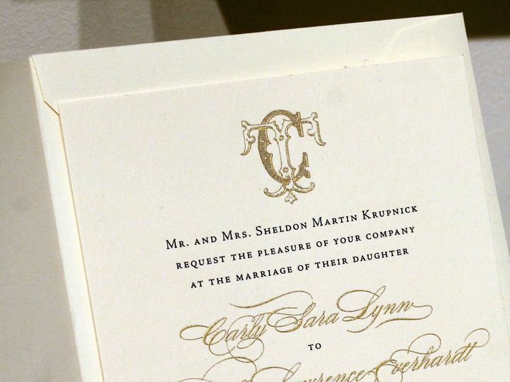 Tmx Classic By Melinda Cantor Designs Bohemia 51 405877 Bohemia, NY wedding invitation