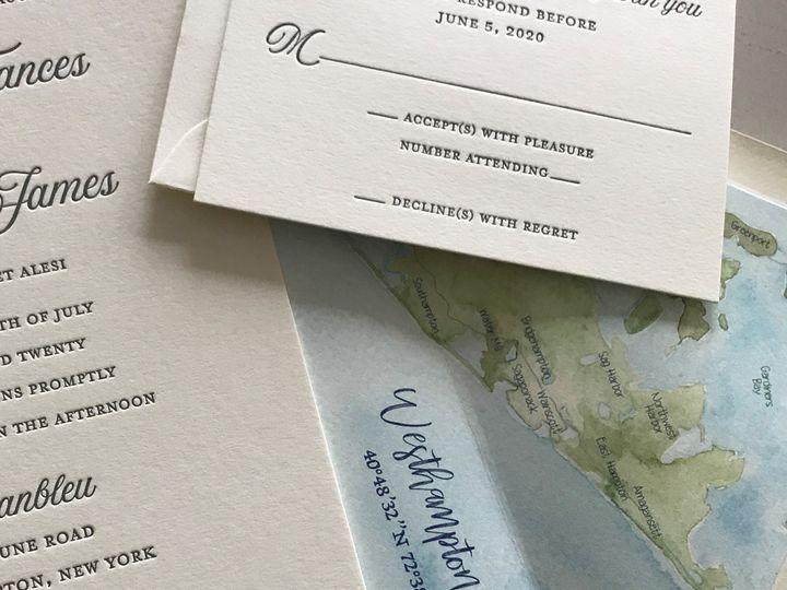 Tmx Custom Liner 51 405877 160796522342991 Stony Brook, NY wedding invitation