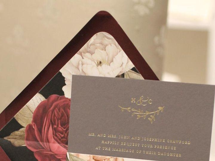 Tmx Floral Elegance 51 405877 158078461929852 Stony Brook, NY wedding invitation