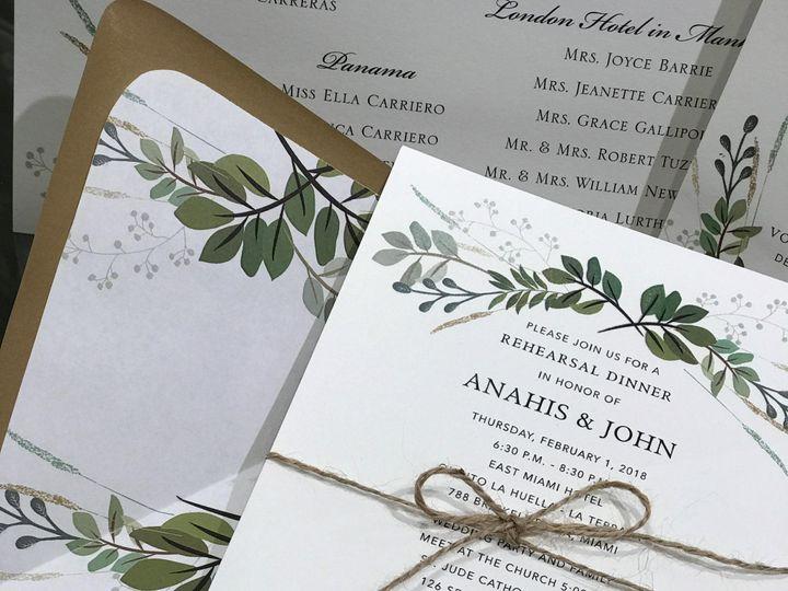 Tmx Img 1134 51 405877 158078449647992 Bohemia, NY wedding invitation