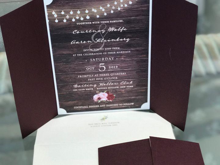 Tmx Img 1484 51 405877 158078428649643 Bohemia, NY wedding invitation