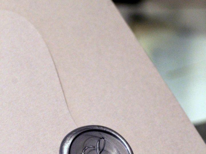 Tmx Wax Seal By Melinda Cantor Designs 51 405877 158078466053646 Bohemia, NY wedding invitation