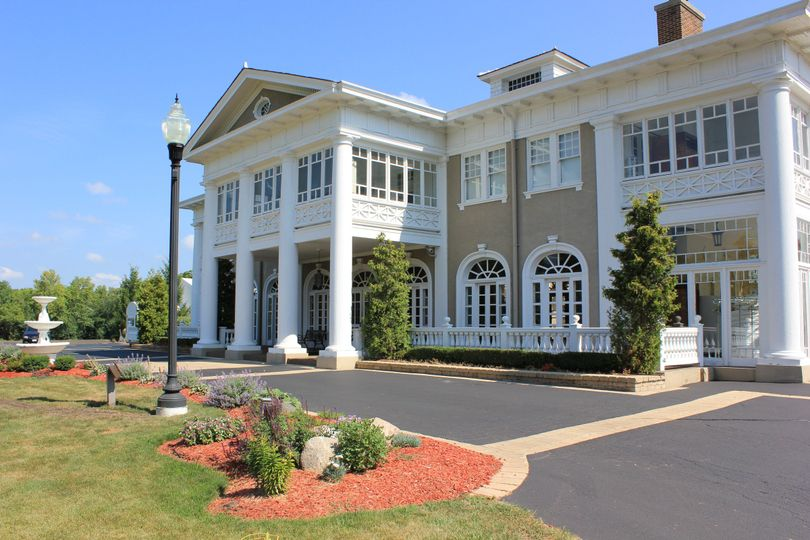 Front view of Lehmann Mansion