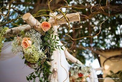 Vintage Wedding Theme Canopy