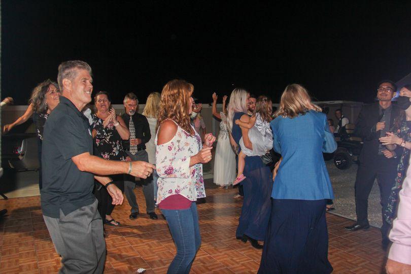 TreMar Ranch dance floor