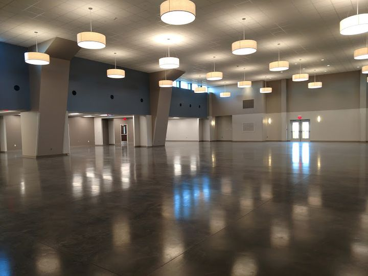 Event space rooms open
