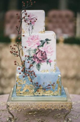 The enchanted themed cake