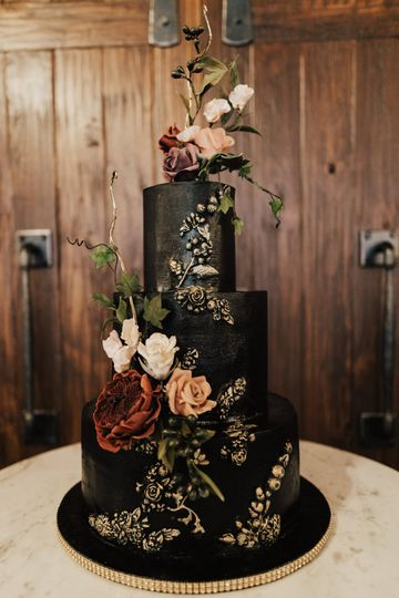 Gothic with Sugar Flowers