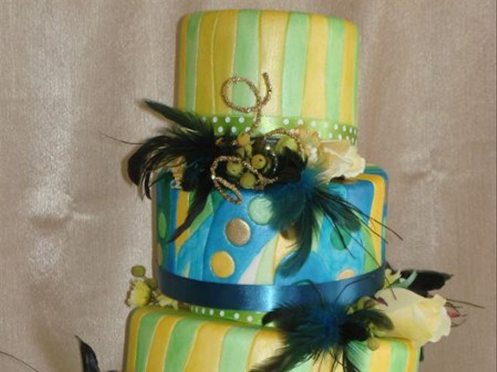 Tmx 1283131272966 TopsyTurveywithFeathers San Luis Obispo, California wedding cake