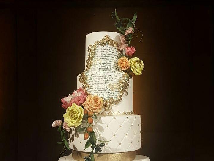 Tmx 1451682131 1c781dbb2e6b03f2 Terra Mia Photo Shoot Cake San Luis Obispo, California wedding cake