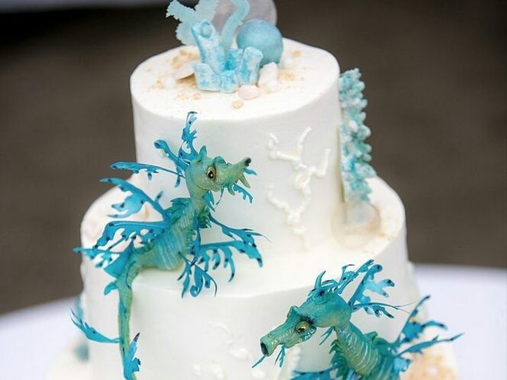 Tmx 1469465534547 Sea Dragon Cake San Luis Obispo, California wedding cake