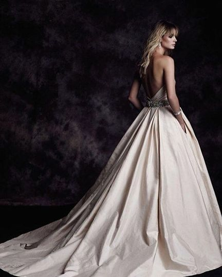 Beautiful flowing gown