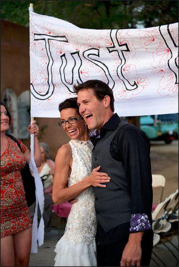 Craig & Nedra at the Love Apple, Taos, New Mexico