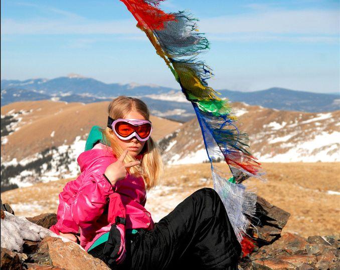 Sparrow Skywalker - First Trip to the Top - Kachina Peak, Taos Ski Valley, New Mexico