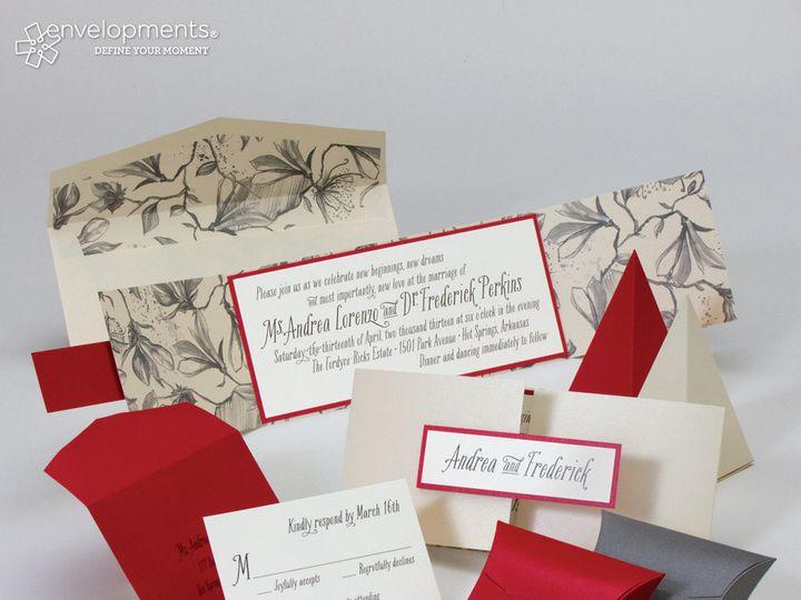 Tmx 1389027640931 Env  Winston Salem, NC wedding invitation