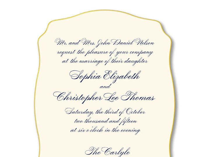Tmx 1389027674265 Wm Arth  Winston Salem, NC wedding invitation