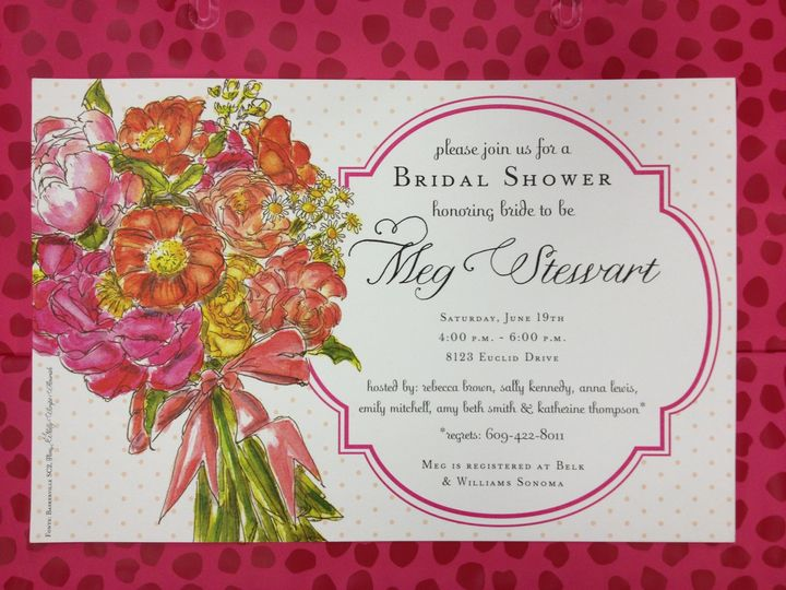 Tmx 1389037128767 Bridal Showe Winston Salem, NC wedding invitation