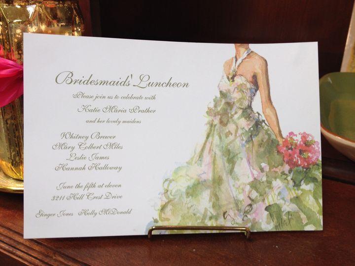 Tmx 1389037176254 Oddballs Bridesmaiid Luncheo Winston Salem, NC wedding invitation