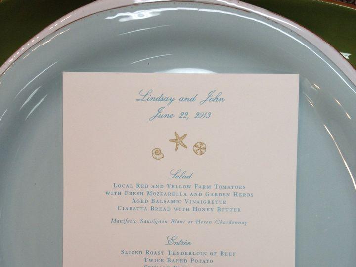 Tmx 1389037303947 Beach Menu  Winston Salem, NC wedding invitation