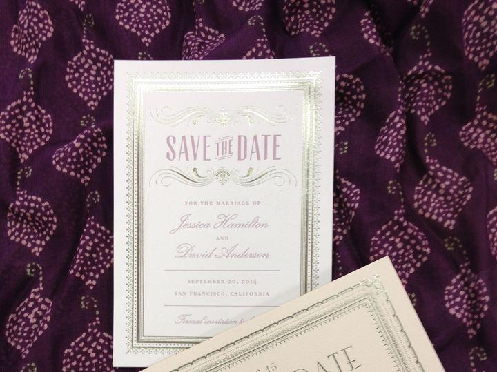 Tmx 1389037466512 Save The Dat Winston Salem, NC wedding invitation