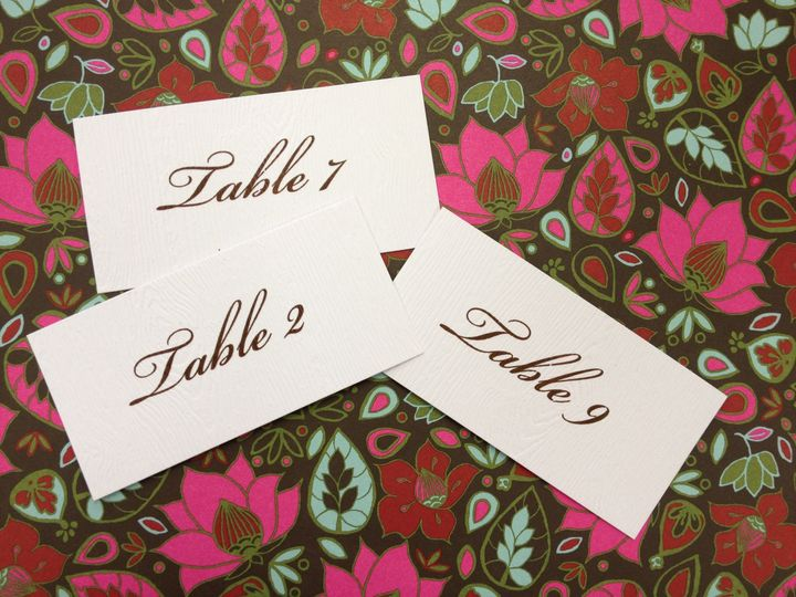 Tmx 1389038749962 Table No Winston Salem, NC wedding invitation
