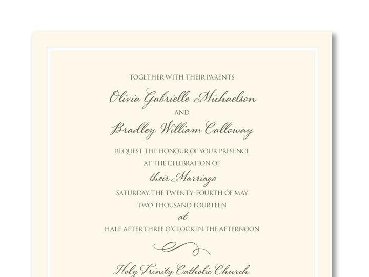 Tmx 1389039692317 Wm Arth  Winston Salem, NC wedding invitation