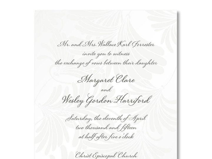 Tmx 1389039696941 Wm Arth  Winston Salem, NC wedding invitation