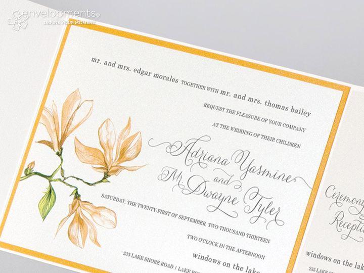 Tmx 1389039708605 Env 5 Winston Salem, NC wedding invitation