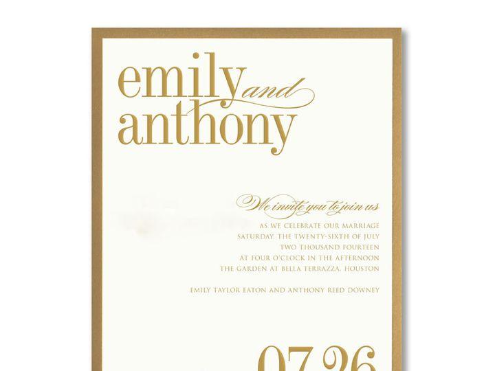Tmx 1389039715830 Vera Wang  Winston Salem, NC wedding invitation