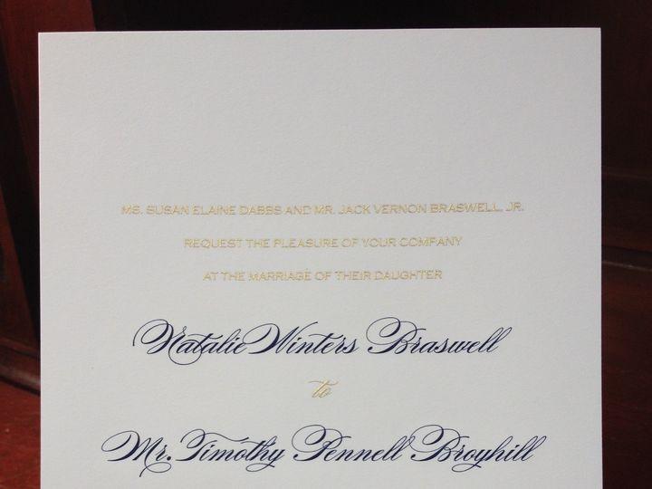 Tmx 1391802352752 Braswell Weddin Winston Salem, NC wedding invitation
