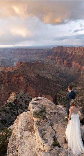 Eloping at Grand Canyon